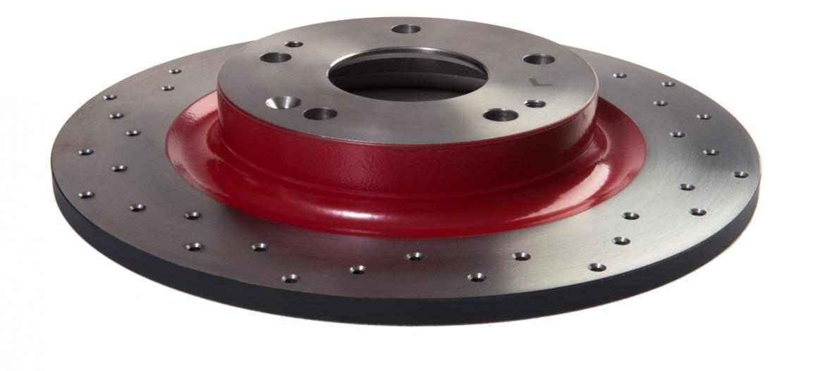 Rear Disc Drilled High Performance Racing