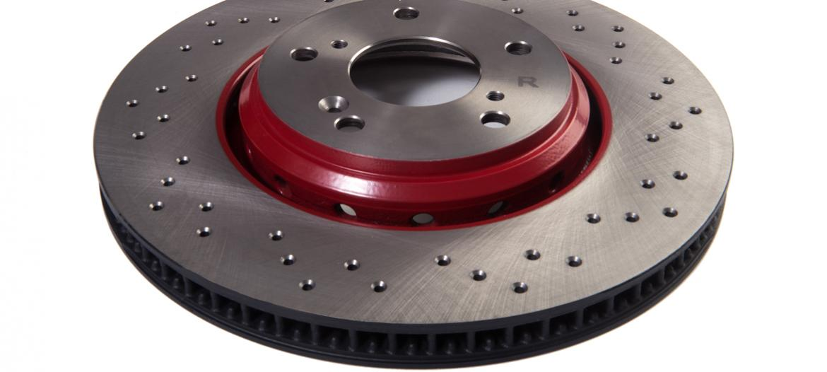 Front Disc Drilled High Performance Racing