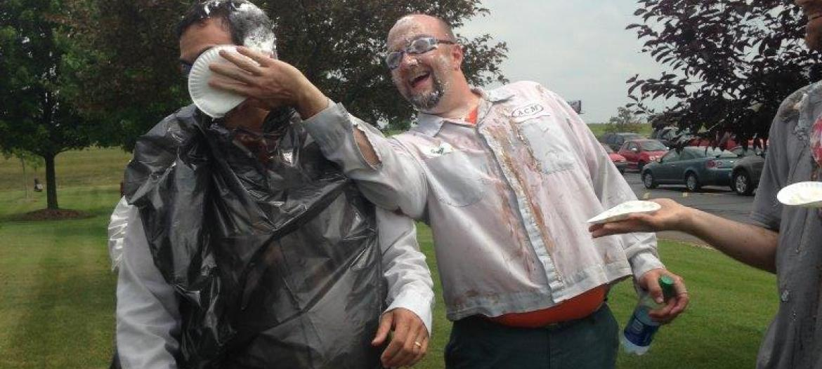 Pie in the face management